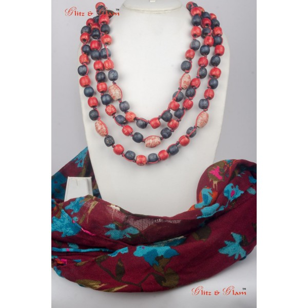 Jewelled Scarf JW 13