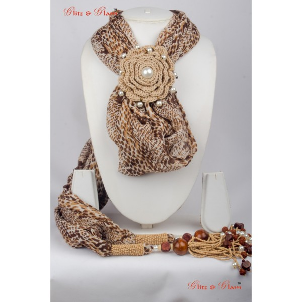 Jewelled Scarf JW 14
